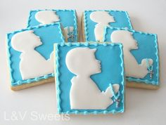 Communion Boy cookie by L sweets, via Flickr