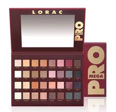 Lorac MEGA PRO 32 Color Eye Shadow Palette Cosmetics Authentic NIB #LORAC