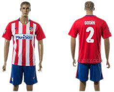 http://www.xjersey.com/201516-atletico-madrid-2-godin-home-jersey.html 2015-16 ATLETICO MADRID 2 GODIN HOME JERSEY Only $35.00 , Free Shipping!