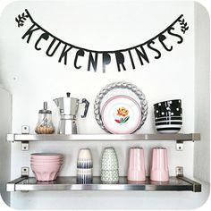 #Wordbanner #tip: Keukenprinses - Buy it at www.vanmariel.nl - € 11,95