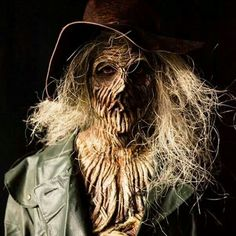Image result for scary scarecrow halloween makeup