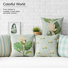 Atacado simplicidade e criativo cadeira almofada pastoral europeu stle almofadas casa decoração capa de almofada macia e confortável(China (Mainland))