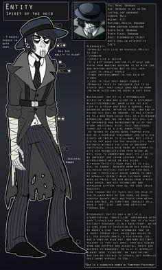 Entity by kastoway on deviantart. HE LOOKS LIKE A HOMESTUCK CHARACTER