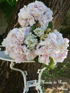 Le Monde de Rose - Sublime bouquet di ortensie