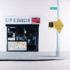 Brett Amory - Cup & Saucer (Waiting #242)