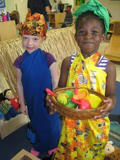 Pre K Sweet Peas: Summer Camp-African Safari!