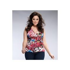 Roselyn Ruched Tank ($52) via Polyvore