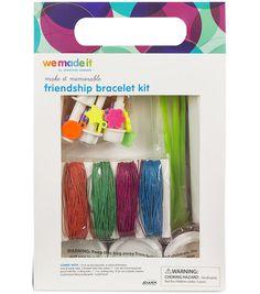 We Made It by Jennifer Garner™ Friendship Bracelet Kt Online Craft Store, Craft Stores, Friendship Bracelet Kit, Design Guidelines, Treasure Boxes, Joann Fabrics, Box Design, Fabric Crafts, Gifts For Kids