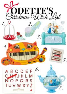 Toddler Girl Christmas Wish List | DETTE CAKES
