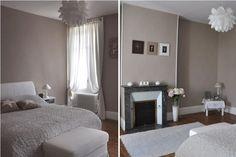chambre romantique élégante