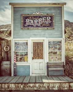 Barber Shop Randsburg, Ca