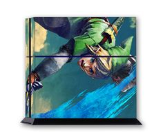 LINK PS4 Skin Vinyl Decal PlayStation 4 Console Sticker Legend Of Zelda 102
