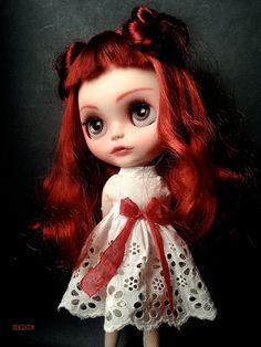 Ooak Custom Blythe Art Doll Mylena by Iriscustom by aline8