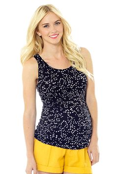 Trending now:  black/white.  This is a must have tank for the summer! Goes with just about anything for a super chic style!  Available now at The Swanky Stork.  http://theswankystork.com/shopping/shopexd.asp?id=3525&bc=no
