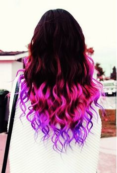 inspiration hair colors purple