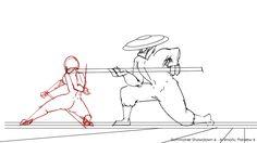 animated fighting genga philips_lacanlale web western