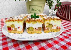 Sernik na jogurtach greckich z rabarbarem - DoradcaSmaku - ten przepis cieszy się popularnością, sprawdź. Avocado Toast, Sushi, Sandwiches, Pizza, Breakfast, Ethnic Recipes, Food, Tattoo, Rezepte