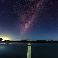 """Port Fairy Milky Way  Aurora Australia & Milky Way - Port Fairy VIC Light to the left is from a near by town of Warrnambool light to the right is the Aurora from the southern ocean as there is no other landmass from here to Antartica. Faint magenta & green light can be seen at night when the reading is high.  Canon 5D MKIII 16-35mm f/2.8 II Awesome lens for astro might not be as bright as my 24mm f/1.4 but it is much wider. ------------- : Canon 5D MKIII : Canon 16-35mm ƒ/2.8 II : 30""""…"""