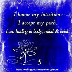 Third Eye Chakra Affirmation... your thoughts create your reality and by practicing your chakra balancing affirmations on a regular basis you will start seeing amazing results in your life. #KnowingYourChakras