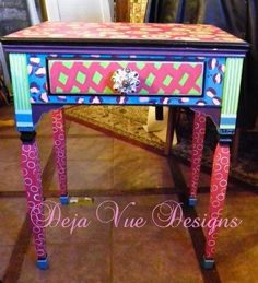 this is an old sewing cabinet i turned into a laptop desk and painted, painted furniture, By adding a little shelving and support this sewing cabinet now serves as a laptop desk