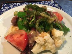 ホタルイカの蕗味噌サラダ