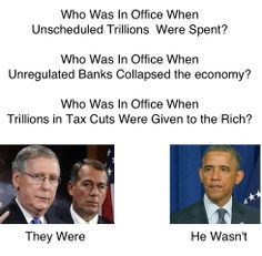 If they created the problem, do you really think Boehner or McConnell want anything to do with fixing it?