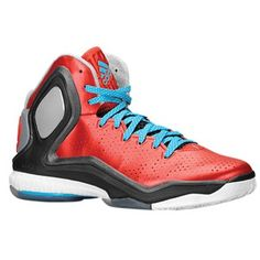 cheaper f5649 4f816 adidas D Rose 5 Boost - Mens - Light ScarletSolar BlueBlack