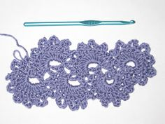 Mr. Micawber's Recipe for Happiness: Queen Anne's Lace Crochet Scarf Tutorial (with pattern modifications)