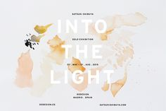 INTO THE LIGHT . SOLO EXHIBITION — satsuki shibuya . journal