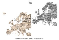 Sketch Europe letter text continent, Europe word - in the shape of the continent, Map of continent Europe - brown and black vector illustration Continent Europe, Map Of Continents, Royalty Free Stock Photos, Sketch, Shape, Lettering, Words, Brown, Illustration