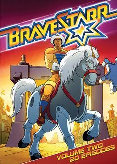 BraveStarr: Volume Two Old School Cartoons, Retro Cartoons, Classic Cartoons, Cartoon Movies, Cartoon Shows, Cartoon Characters, Looney Tunes, Desenhos Hanna Barbera, Saturday Morning Cartoons