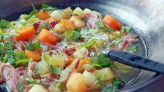 Suppe på svineknoke