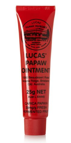 Lucas Papaw Ointment: heard so much good stuff about this but also that it's hard to find anywhere outside of Australia!