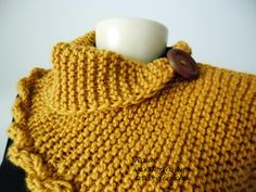 maxi gola tricot mostarda by www.rosaacessorios.blogspot.com