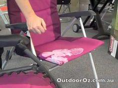 OZtrail Kokomo 5 - For the Ladies Whats New, Floor Chair, Flooring, The Originals, Youtube, Home Decor, Homemade Home Decor, Hardwood Floor, Interior Design