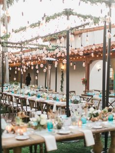 Signature Party Rentals | ft. in Style Me Pretty | Casa Romantica   Wedding | Wedding Reception | Wedding Ceremony | Southern California | SoCal | SoCal Wedding | Casa Romantica Wedding | Rustic Wedding | Rustin | Rustic Elegant | Blue |Summer