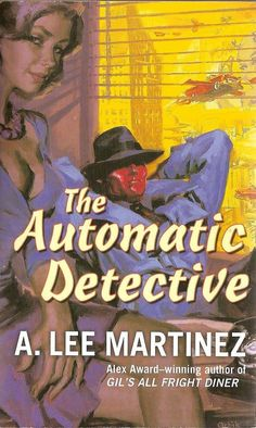 The Automatic Detective #books #cover #pulp