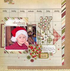 Joy - Scrapbook.com  handmade holidays