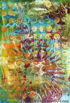 you Gellin'? by Fruehling Beeman PalazzariRonda Palazzari Art Journal amazing! by Fruehling Beeman Palazzari Kunstjournal Inspiration, Art Journal Inspiration, Collage, Mix Media, Mixed Media Art, Book Art, Gelli Plate Printing, Gelli Arts, Plate Art