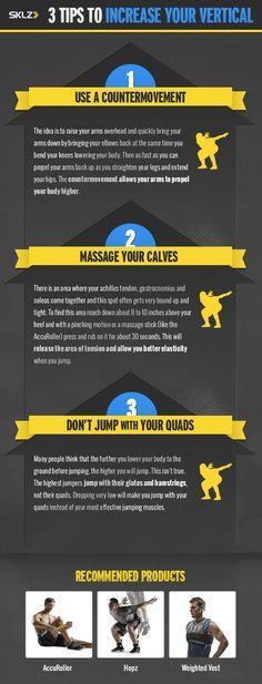 3 Tips to Increase Your Vertical Jump #VerticalJump #TrainingTips