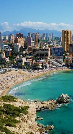 Alicante, Spain. Sometimes, I can't even believe my husband and I were actually, here! It was wonderful!