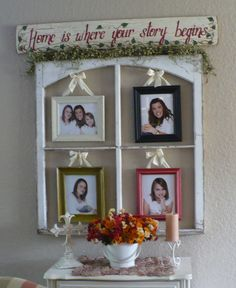 home is where your story begins Junk Art, My Precious, Where The Heart Is, Wall Decor, Decor Crafts, Home Decor, Decor Ideas, Gift Ideas, Frame