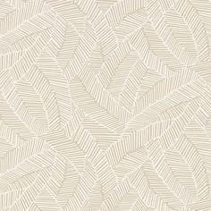 Schumacher - ABSTRACT LEAF wallpaper Linen