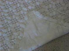 Lacy Christening Blanket ~ intermediate skill ~ great Christening gift ~ beautiful keepsake ~ FREE - CROCHET