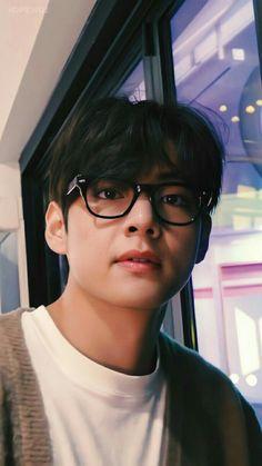 Jungkook Cute, Bts Jungkook, Jungkook Glasses, Foto Bts, V Bta, V Chibi, Taehyung Selca, Taehyung Photoshoot, V Bts Wallpaper