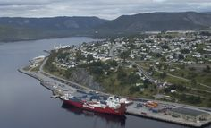 cornerbrook, NF where Alex is living. This site is great! Put in place and they will take you to a photo stream of it!