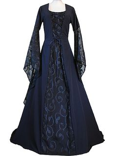dornbluth.co.uk - medieval dresses. Apparently we need to have grand balls again so I can wear this.