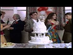 "Nick Lowe - ""I Knew The Bride When She Used To Rock And Roll"" . So AWESOME! Just love it and such a funny video. The dancing sure brought back memories to. Wedding Games, Wedding Music, Good Music, My Music, Music Clips, Tempo Music, Your Song Elton John, Nick Lowe, Rock Videos"