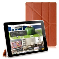 Smooth PU Leather Stand Case Cover for iPad Air #ipadaircase #ipadair #ipadcase #casecover #tpucase #colorfulcase #popularcase #bestoftheday #300likes #photooftheday #pinterest #lovelycase #cute #colorful #case #cellz.com #cheapcase #leathercase $9.9
