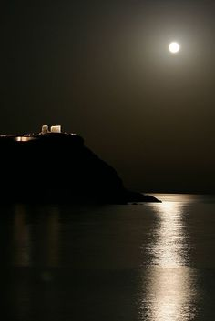 """See 233 photos from 1943 visitors about temple of poseidon, crystal clean waters, and sunsets. """"If you're at the Temple of Poseidon, make sure to. Beautiful Moon, Beautiful Places, Beautiful Scenery, Amazing Places, Full Moon Photos, Cool Pictures, Beautiful Pictures, Athens Greece, Attica Greece"""